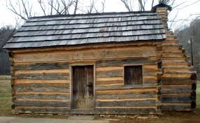 elegant abraham lincoln log cabin new home plans design