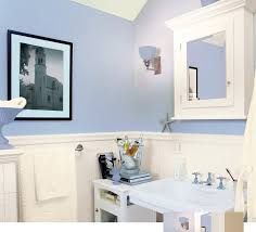 blue bathroom paint ideas awesome blue wainscoting bathroom house improvements best