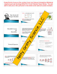 genetics u2013 study of heredity life science notes powerpoint and