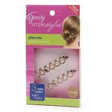 goody hair goody simple styles spin hair pin colors may vary walgreens