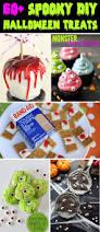 Spooky Treats Recipes Halloween 60 Easy And Spooky Diy Halloween Treats For 2017