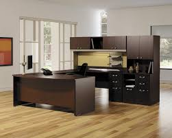 L Shaped Office Table Astonishing Home Office Furniture With Dark L Shaped Desk Combined