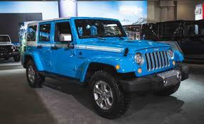 chief jeep wrangler 2017 the jeep wrangler chief limited edition is a thing news car and