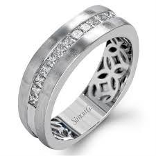 mens wedding band designers simon g diamond white gold mens wedding bands designer engagement