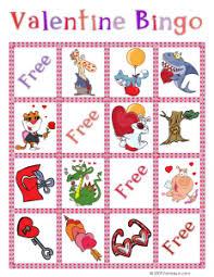 valentines bingo bingo printable cards