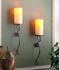 Wrought Iron Home Decor Sconce Black Wrought Iron Candle Sconces Black Metal Candle