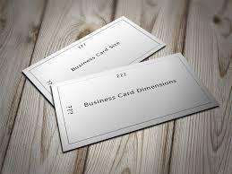 how big is a business card ikwordmama info