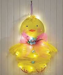 Amazon Prime Easter Decorations amazon com adorable lighted easter peep cordless battery