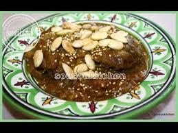 cuisine de sousou mrouzia المروزية recette marocaine de viande caramélisé aux raisins