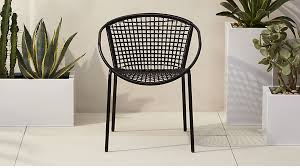 Black Dining Chairs Black Dining Chair In Accent Chairs Reviews Cb2