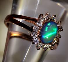 crystal opal rings images 1 25ct 8x5mm solid crystal opal gold plated cz ring jpg