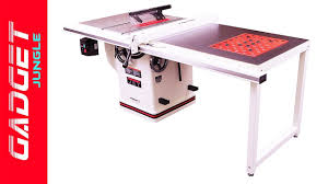 who makes the best table saw best table saw 2018 jet 708678pk review youtube
