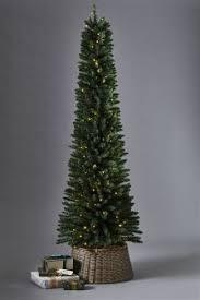 christmas trees slim u0026 pre lit artificial christmas trees next