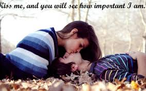 Romantic Love Quotes by Cute Romantic Love Kiss Images
