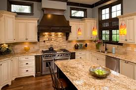 backsplashes for kitchens with granite countertops travertine tile backsplash ideas in exclusive kitchen designs