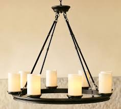 Candle Holder Chandeliers Veranda Chandelier Pottery Barn