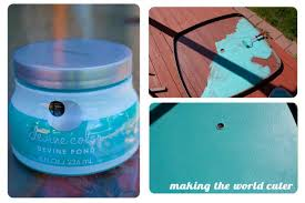 paint glass table top how to make a perfect glass patio table makeover