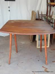 Vintage Drop Leaf Table Number Fifty Three Antique Drop Leaf Table