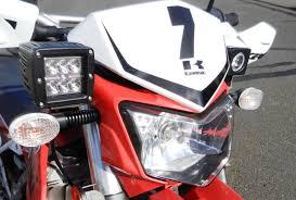 2006 2015 klx250s led light mount bracket