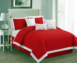 Red Bedding Zspmed Of Red Bedding Sets Elegant With Additional Interior