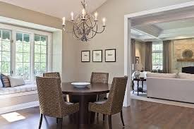 Traditional Dining Room With Chandelier  Window Seat Zillow - Traditional dining room chandeliers