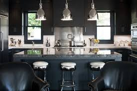 Black Kitchen Faucet 20 Black Kitchens That Will Change Your Mind About Using Dark Colors
