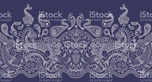 octopus wrapping paper vector seamless pattern mermaid octopus fish sea animals