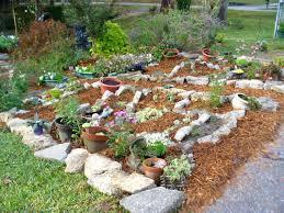 rock backyard rock landscape design landscaping design ideas