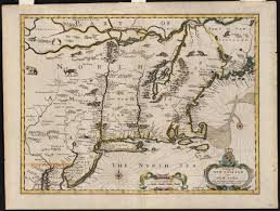 Map Of Northampton Ma A Map Of New England And New York By John Speed 1676 2638x2000