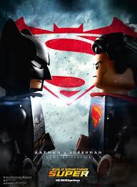 lego movie justice league vs batman vs superman gets a lego poster cosmic book news