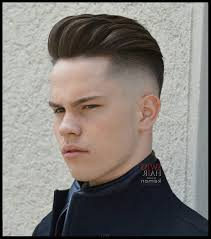 mens hairstyles excellent pompadour fade in usa most popular b35