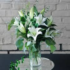casablanca lilies casablanca lilies in brookline ma albert s of brookline