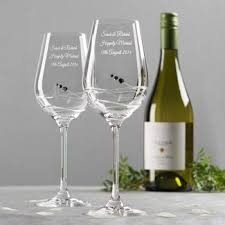 wine glass with initials engraved gifts for gifts for by getting personal
