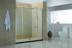 frosted glass shower door frameless bathroom design magnificent french shower doors angelr screening