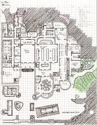 castle 1st floor layout by kayiscah on deviantart