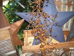 ginny myrt primitives pip berry primitive garland fall pumpkin