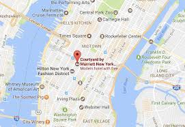The High Line Map Review Courtyard By Marriott New York Chelsea Manhattan
