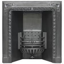 Cast Iron Fireplace Insert by 19th Century Georgian Hob Grate Brass Cast Iron Fireplace Insert