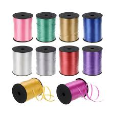 balloon ribbon solid color ribbon curling ribbon balloon accessories manufacturer