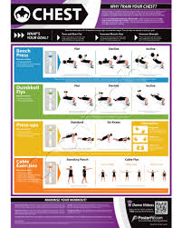Bench Press Program Chart Multi Gym Workout Chart Chest Expander Exercise Chart