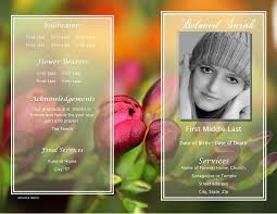 Funeral Pamphlet Ideas Celebration Of Life Templates Findingvideos Us