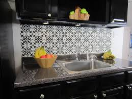 faux kitchen backsplash how to stencil a faux tile backsplash stencil stories stencil