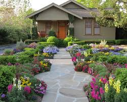 flower garden designs looks beautiful even for your front yard