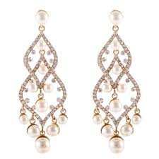 pearl chandelier earrings compare prices on vintage pearl chandelier earrings online