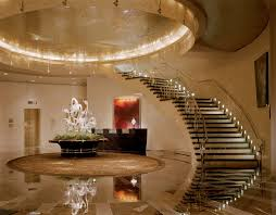 Interior Stair Lights Lux Et Veritas Design Mandarin Oriental Hotel New York Lux