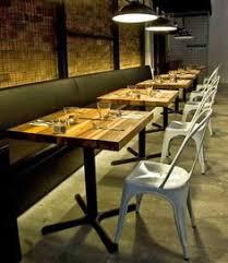restaurant table top at greektown restobar