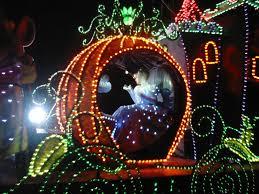 electric light parade disney world disney world s cinderella s coach cinderella s coach in the