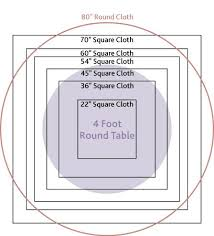 tablecloth ideas for round table excellent the 25 best round table sizes ideas on pinterest for 48