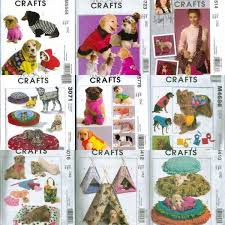 Cat Bed Pattern Mccalls Craft Pet Dog Cat Bed Clothes Sewing Pattern Ebay