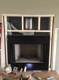 recent fireplace installation all pro chimney service